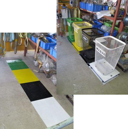 工作室のゴミ入れの改善