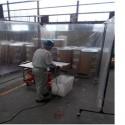 フッ素樹脂原料の切断作業環境の改善