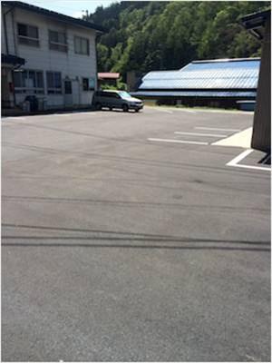 古川事務所前舗装