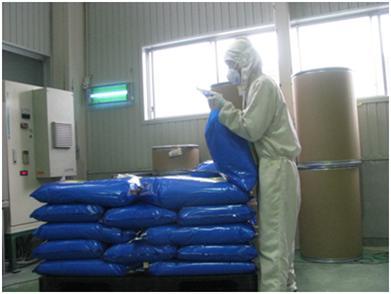 バッグ製品(20kg)積み作業