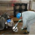 機械洗浄作業