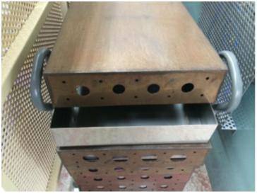 焼成用バットの定置管理