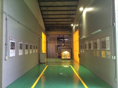 本社工場壁面改修