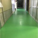 第2製造部通路防塵塗装