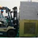 大型設備運搬作業