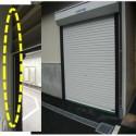 食品棟資材置き場シャッター防虫対策