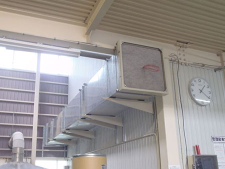 外気取り込み送風設備