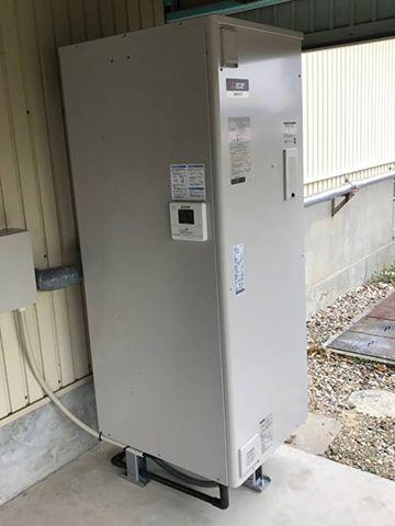 第二工場電気温水器導入