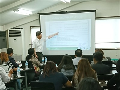 ミャンマー企業見学