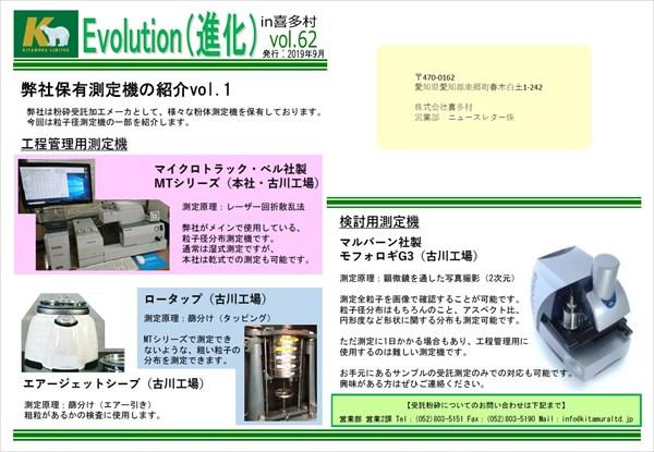 Evolution(進化) in 喜多村 vol.62